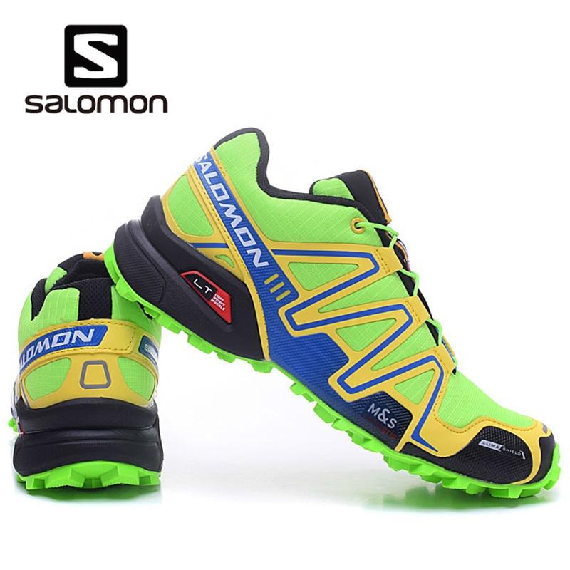 salomon speedcross 3 green red 2019